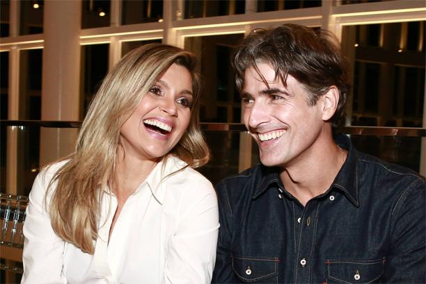 Flávia Alessandra e Reynaldo Gianecchini no evento Vogue Fasion`s Night