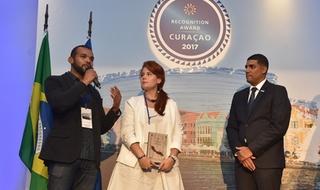 Mkt Virtual recebe prêmio do Curaçao Tourist Board
