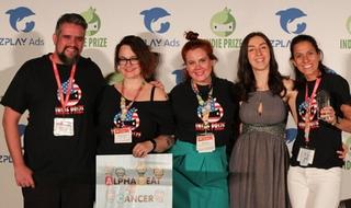 Alpha Beat Cancer leva prêmio do público no Indie Prize do Casual Connect