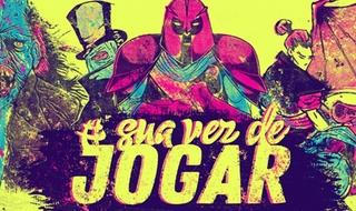 #SuaVezDeJogar: Mkt Virtual e Galápagos Jogos juntos na CCXP 2017